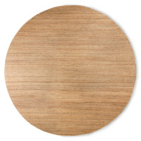 Rond geweven hennep tapijt ∅ 250 cm
