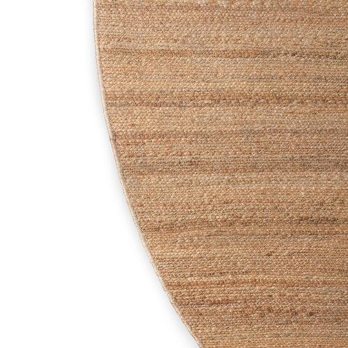 HK Living Rond geweven hennep tapijt ∅ 250cm