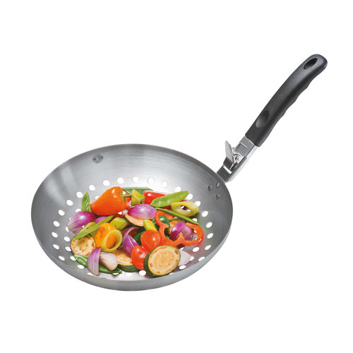 Gefu Barbecue groentenwok met afneembare greep
