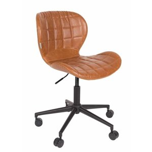 Zuiver OMG bureaustoel  LL bruin