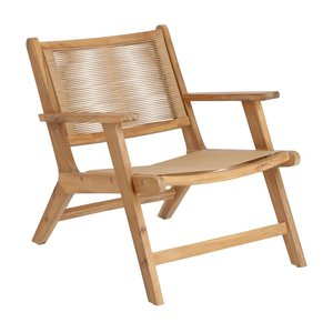 Kave Home Geralda fauteuil acaciahout