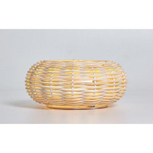 Luxcambra Niuet S low herlaadbare tafellamp buiten