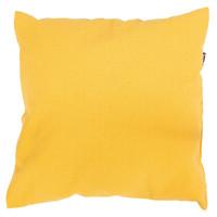 Comfort kussen geel polykatoen