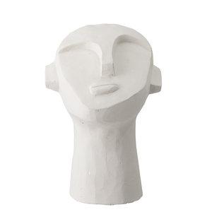 Bloomingville Indo decoratie hoofd wit