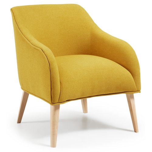 Kave Home Bobly fauteuil beukenhout