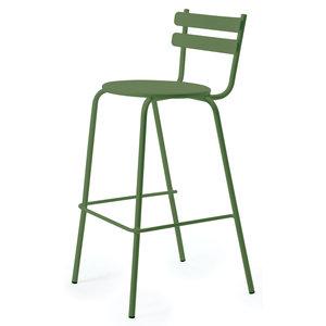 Vermobil Grace barstoel buiten groen