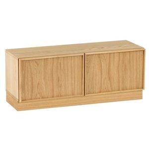 Kave Home Taiana tv-meubel met 2 deuren 112 x 42 x H 44 cm
