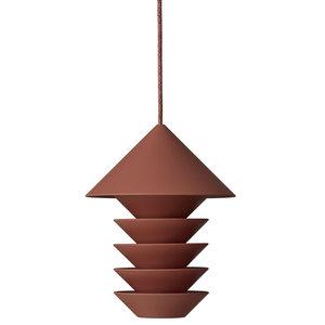 Pidät Bird silo vogelvoederhuisje terracotta