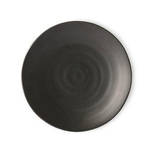 HK Living Kyoto japans eetbord mat zwart