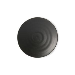 HK Living Kyoto japans dessertbord mat zwart