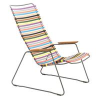 Click loungestoel multicolor