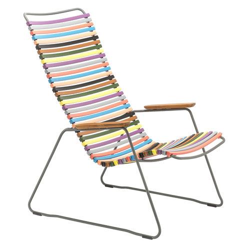 Houe Click loungestoel multicolor