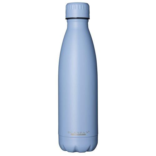 Scanpan To go drinkfles vacuüm Airy Blue 500 ml