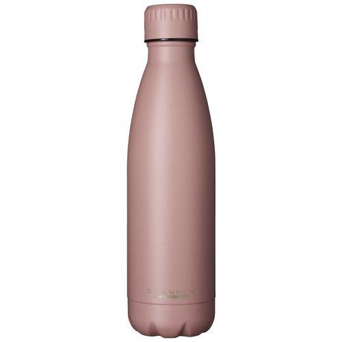 Scanpan To go drinkfles vacuüm Ash Rose 500 ml