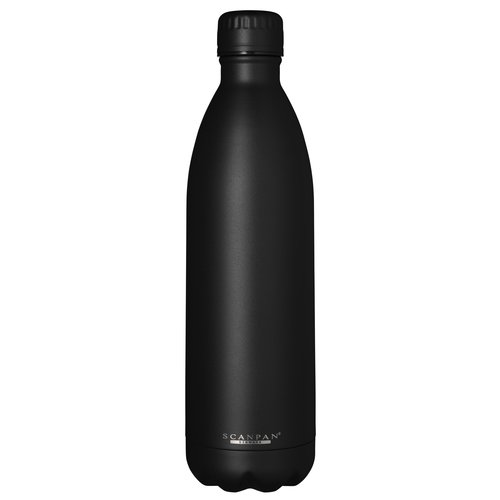 Scanpan To go drinkfles vacuüm Black 1000 ml
