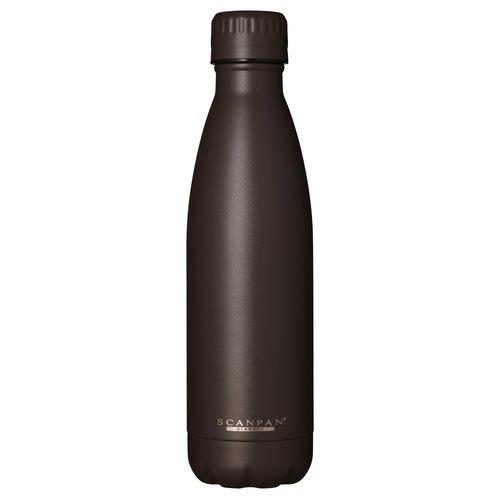 Scanpan To go drinkfles vacuüm Brown Granite 500 ml