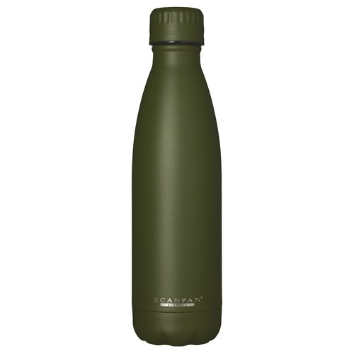 Scanpan To go drinkfles vacuüm Jungle Green 500 ml