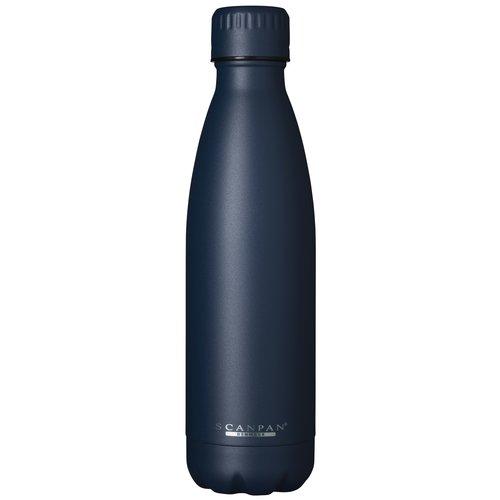 Scanpan To go drinkfles vacuüm Oxford Blue 500 ml