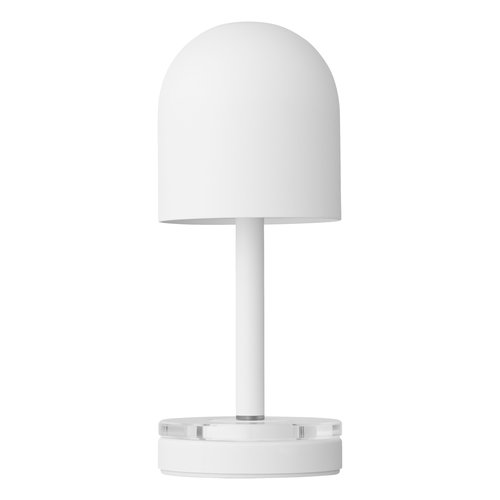 AYTM Luceo draagbare led lamp white & clear Ø 9 x H 22 cm