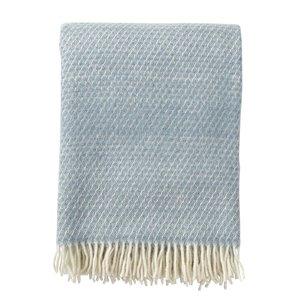Klippan Fade plaid dusty blue