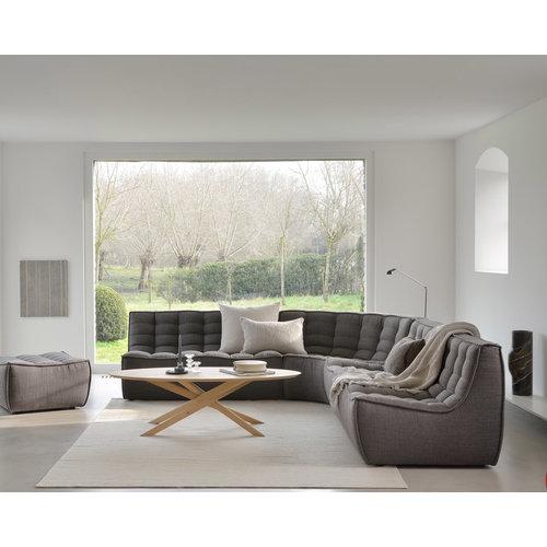 Ethnicraft N701 Sofa rond hoekelement