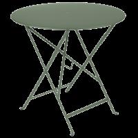 Bistro inklapbare tuintafel cactus metaal Ø 77 cm