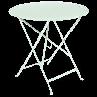 Bistro inklapbare tuintafel ijsmunt metaal Ø 77 cm