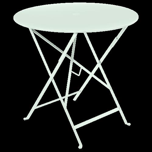 Fermob Bistro inklapbare tuintafel ijsmunt metaal Ø 77 cm