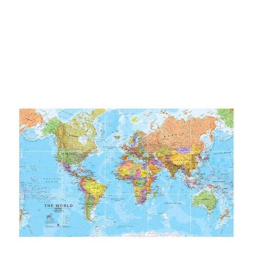 IXXI IXXI wanddecoratie - Wereld 100 x 60 cm