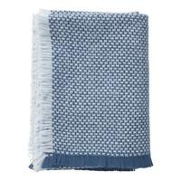 Brick plaid blue