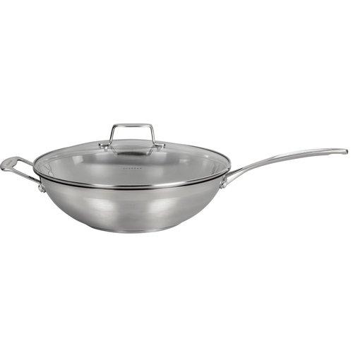 Scanpan Impact wok met deksel Ø 32 cm