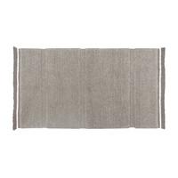 Steppe tapijt grijs