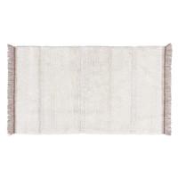 Steppe tapijt wit