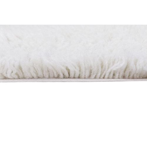 Lorena Canals Arctic Circle tapijt wit Ø 250 cm