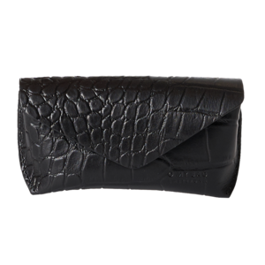 O My Bag Brillen etui zwart croco leather