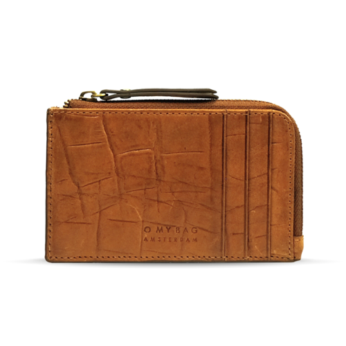 O My Bag Lola geldbeugel cognac croco classic leather