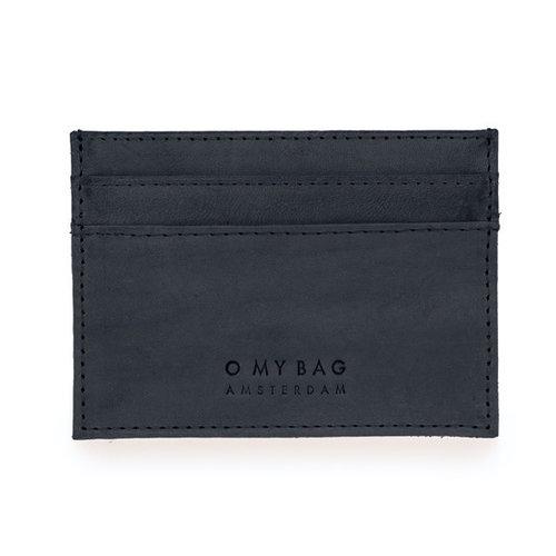 O My Bag Mark kaarthouder zwart classic leather
