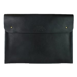 "O My Bag Laptophoes 13"" - hunter leather zwart"