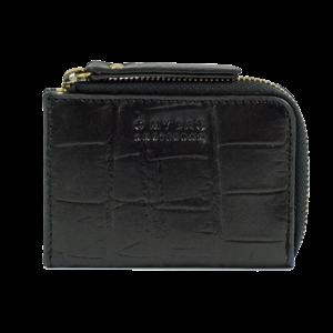 O My Bag Coco geldbeugel - croco classic leather black