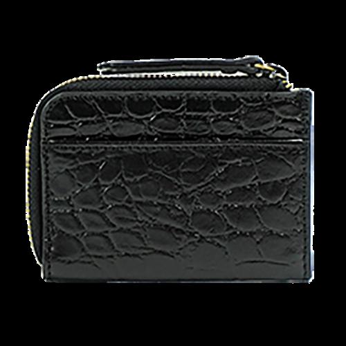 O My Bag Coco geldbeugel zwart croco classic leather
