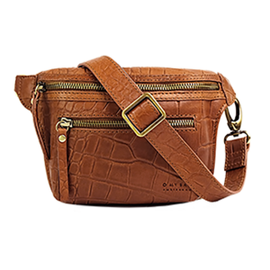 O My Bag Beck's bum bag - croco soft grain leather wild oak