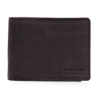 Tobi's portefeuille - Hunter Leather Donkerbruin