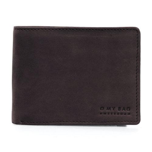 O My Bag Tobi's portefeuille - hunter leather dark brown