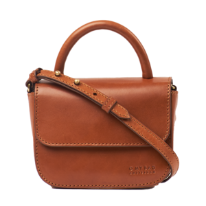 O My Bag Nano handtas - classic leather cognac