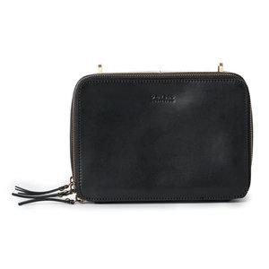 O My Bag Bee's box bag - classic leather black