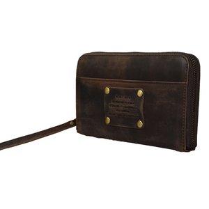 O My Bag Miss moneypenny portemonnee - eco leather dark brown