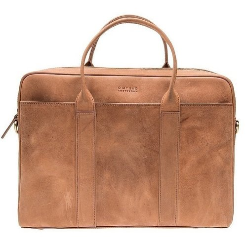 O My Bag The Harvey werktas - hunter leather camel
