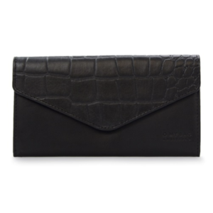 O My Bag Pixie enveloppe portefeuille - eco classic black/croco