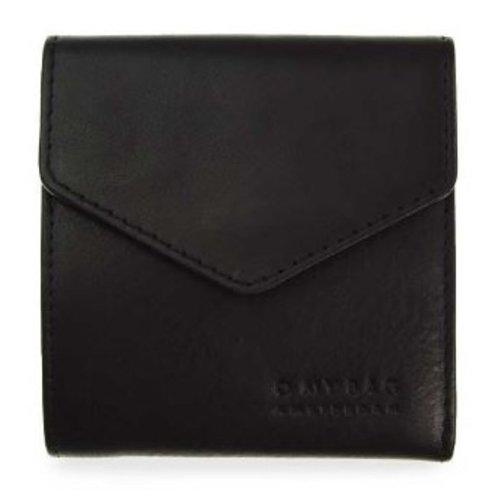 O My Bag Georgie's portefeuille - stromboli leather black