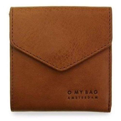 O My Bag Georgie's portefeuille - stromboli leather cognac